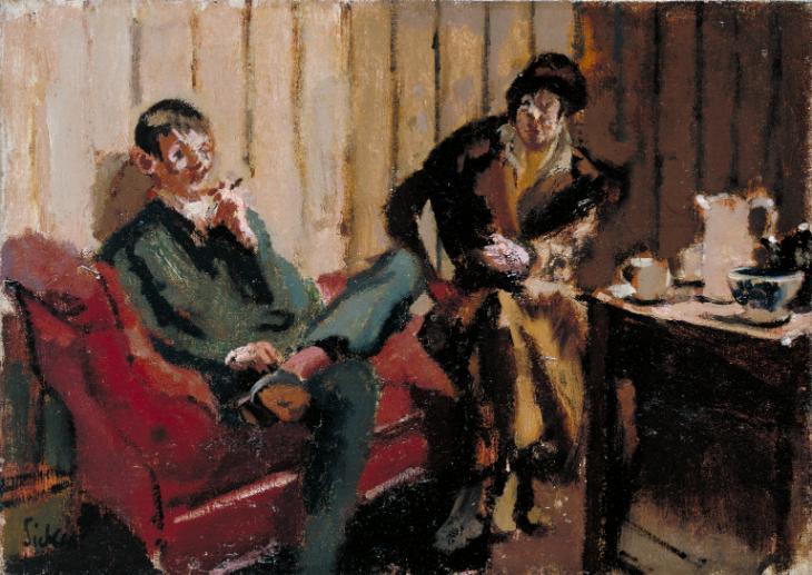 The Little Tea Party- Nina Hamnett