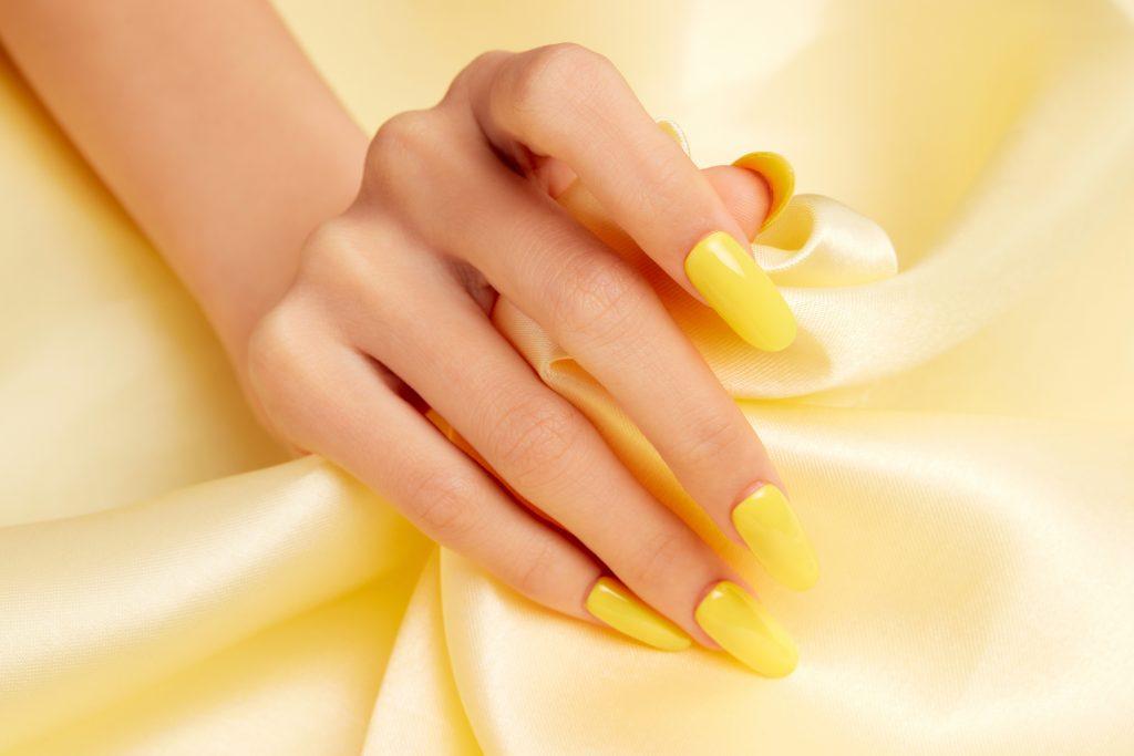 Κίτρινο μανό