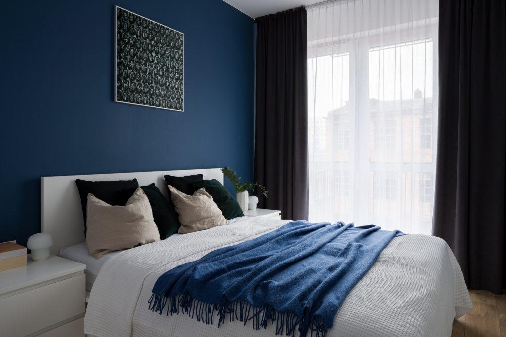 χρώμα στο υπνοδωμάτιο