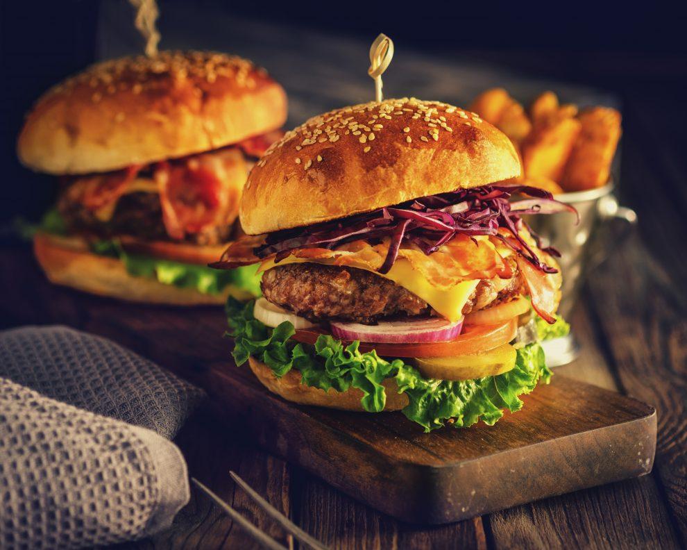 Νόστιμα hamburger