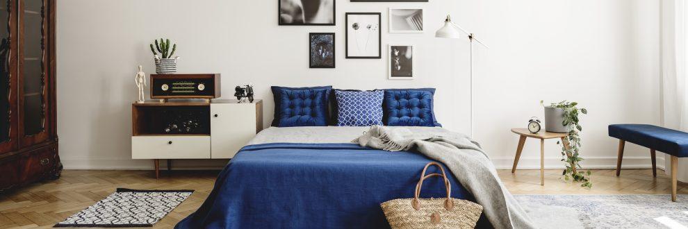 Διακόσμηση δωματίου με μπλε