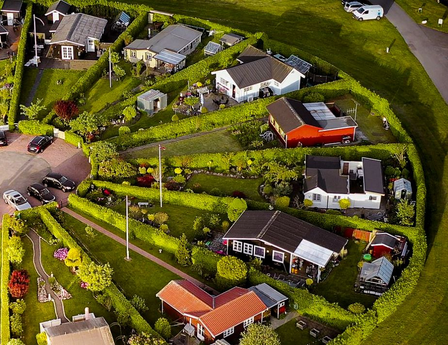 Σπίτια στην «πόλη-κήπο»