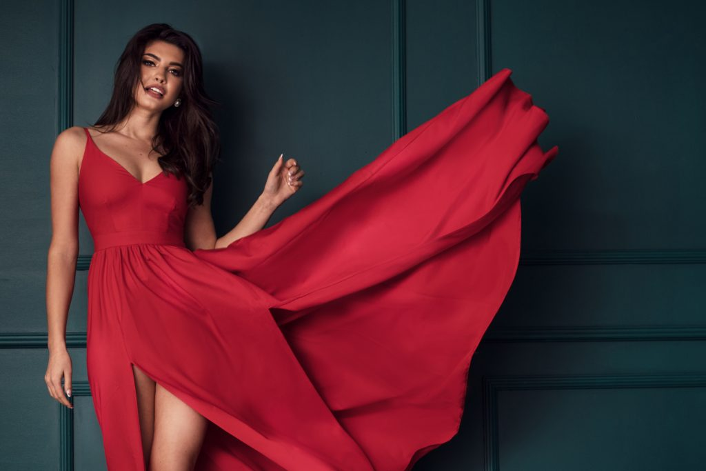 Maxi φόρεμα  κόκκινο