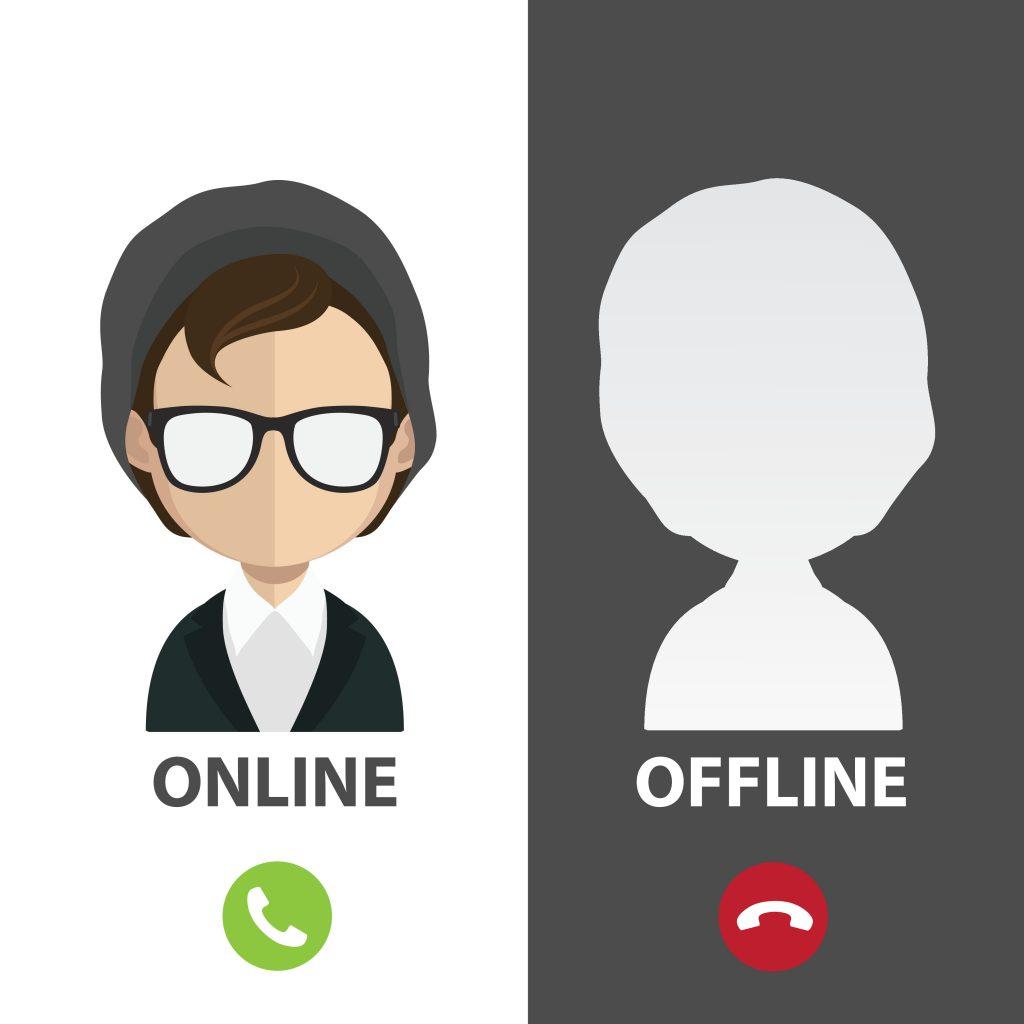Online και Offline κατάσταση