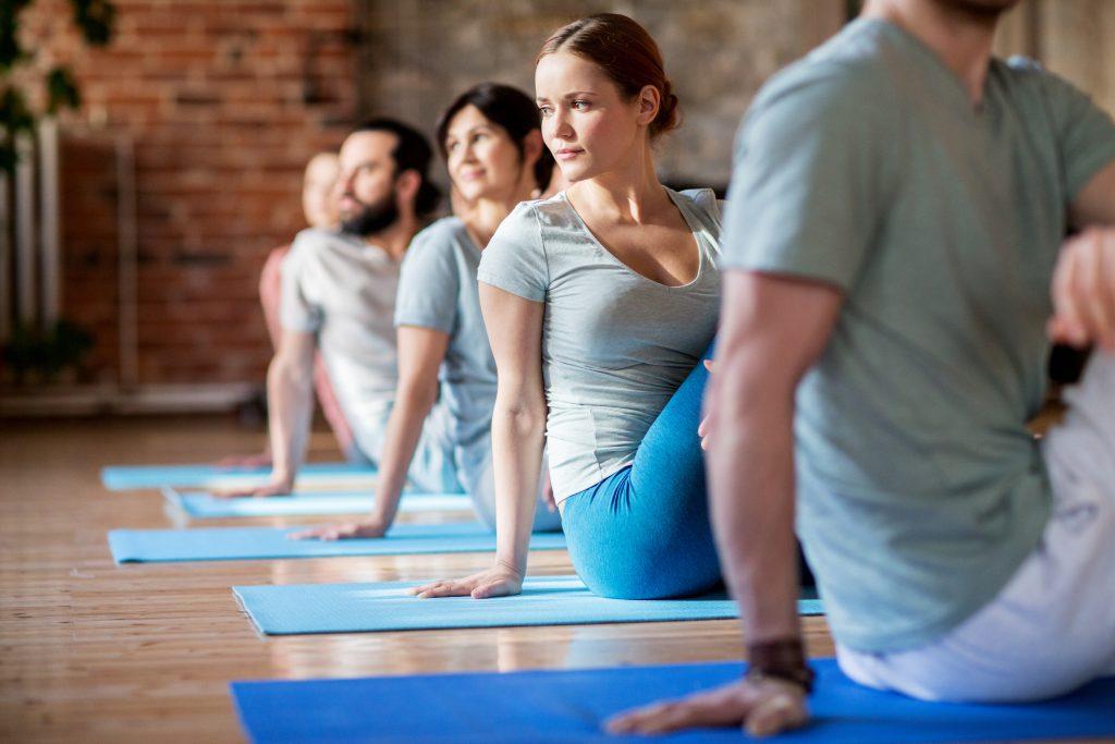 Μάθημα yoga
