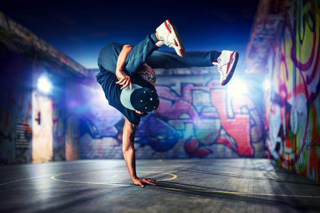 Χορευτής Breakdance