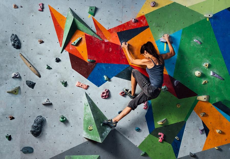 Ορειβασία σε τοίχο