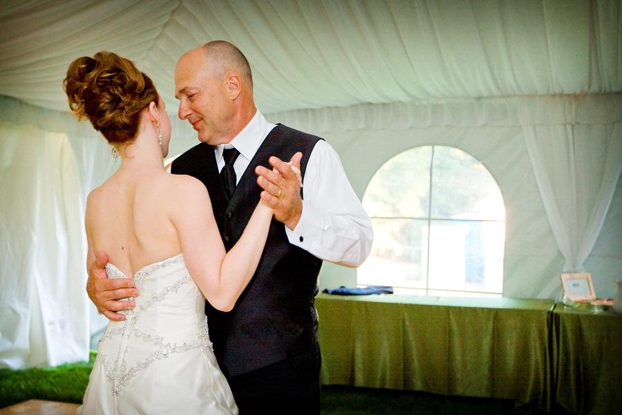 Πατέρας με κόρη-χορός
