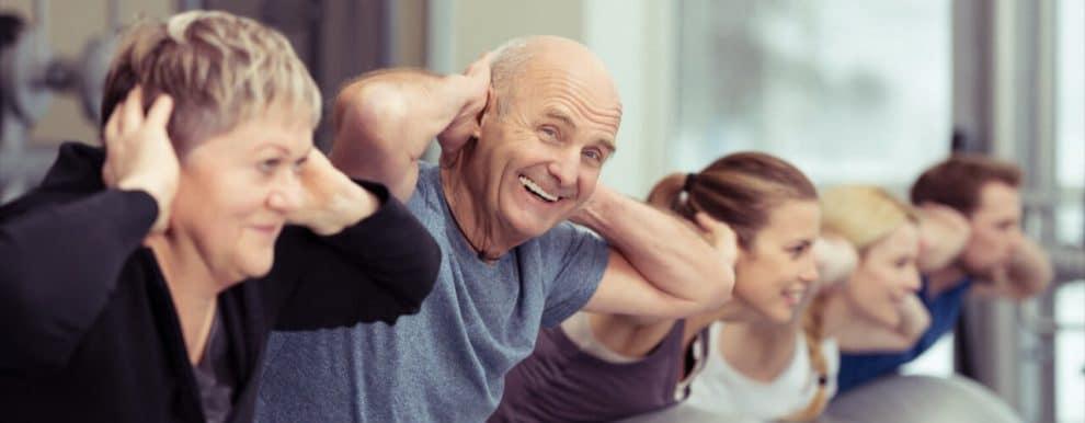 ηλικιωμένοι άσκηση