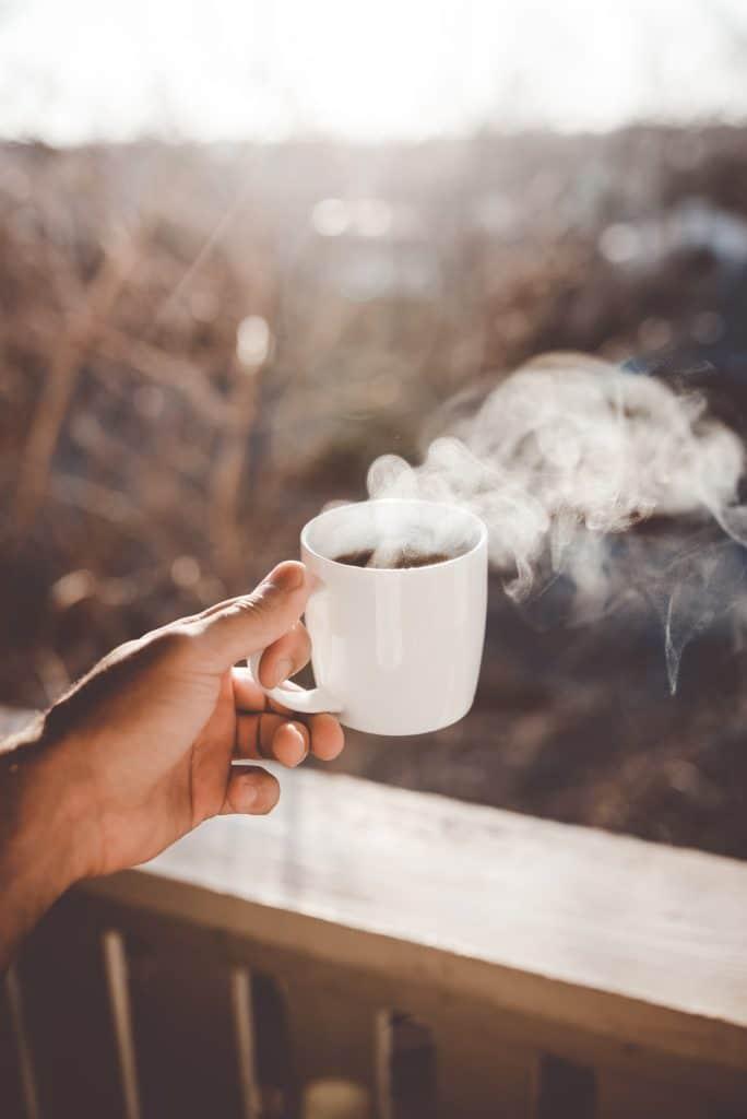 ζεστός καφές